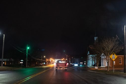Night truck.